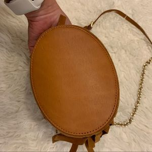 Burberry Bags - Burberry Baby Bucket in Tan Suede Leather Near New